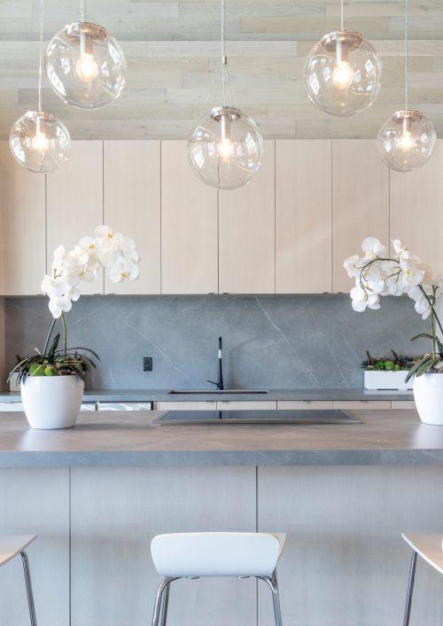Eine moderne Küche Renovierung